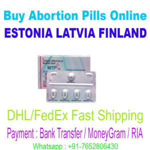 Abortion pills Estonia